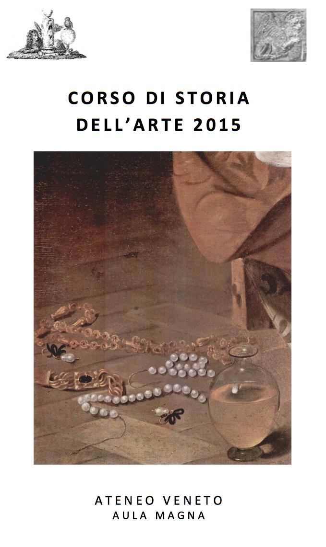 CORSO DI STORIA DELL'ARTE